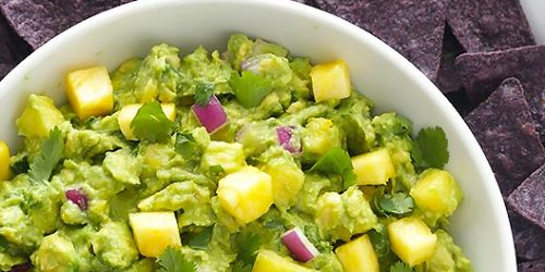 Pineapple Guacaomole