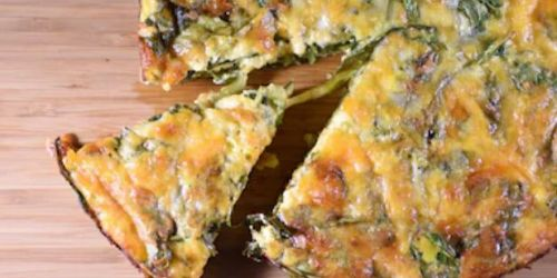 Slow-Cooker Ham, Cheese and Spinach Crustless Quiche