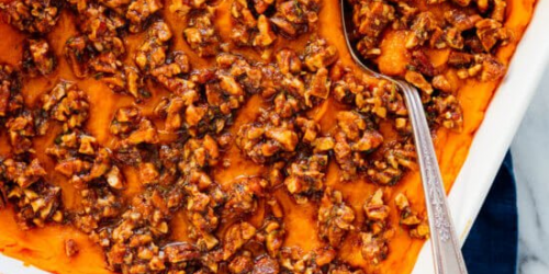 Pecan Sweet Potato Casserole