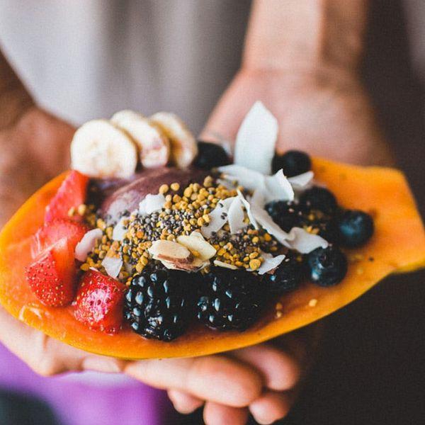 Resultado de imagen de papaya bowl